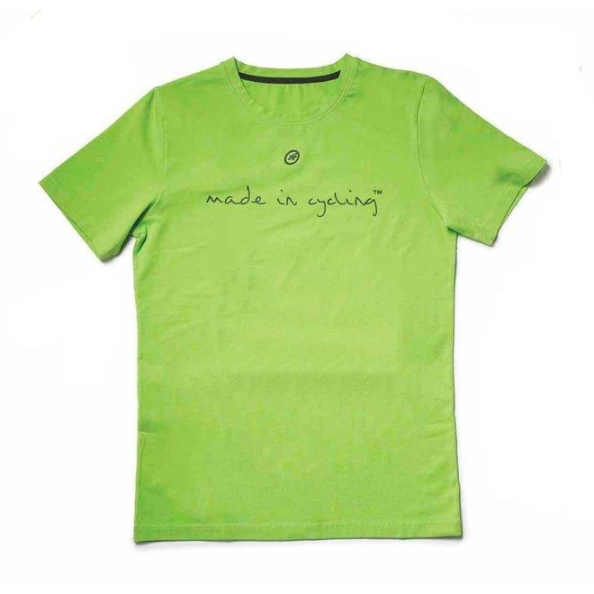"""Assos T-Shirt Made in Cycling""""SS Man"""" Groen"""