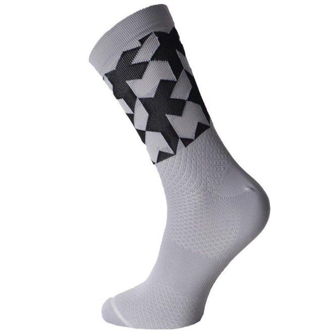 Monogram Socks evo sokken Grijs