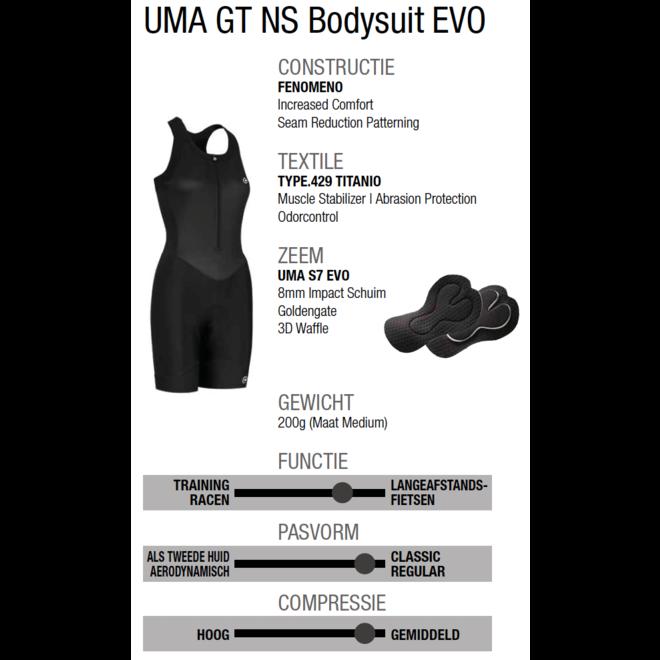 Assos Uma GT Summer NS Bodysuit EVO Dames (Zwart)