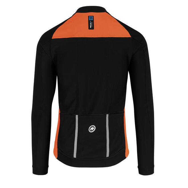 Assos Mille GT Winter Jacket EVO Oranje