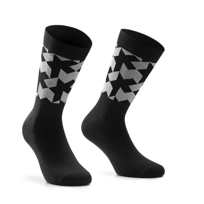 Assos Monogram Socks EVO Sokken Zwart New