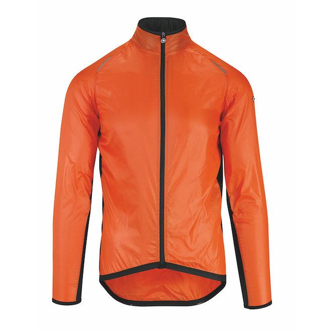 Assos Mille GT Wind Jacket regenjas Oranje