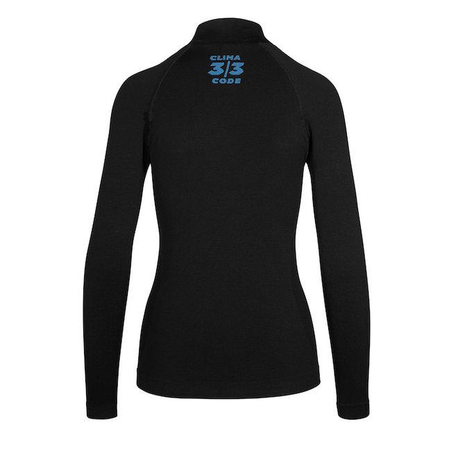 Assos Winter LS Skin Layer - Ondershirt Zwart (Dames)