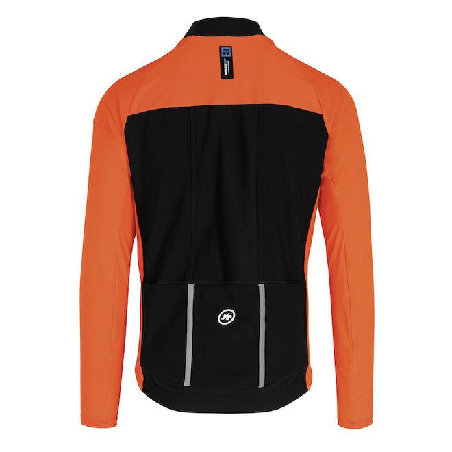 Assos Mille GT Jacket Ultraz Winter EVO Oranje
