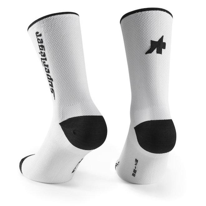 Assos RS Socks Superleger Wit
