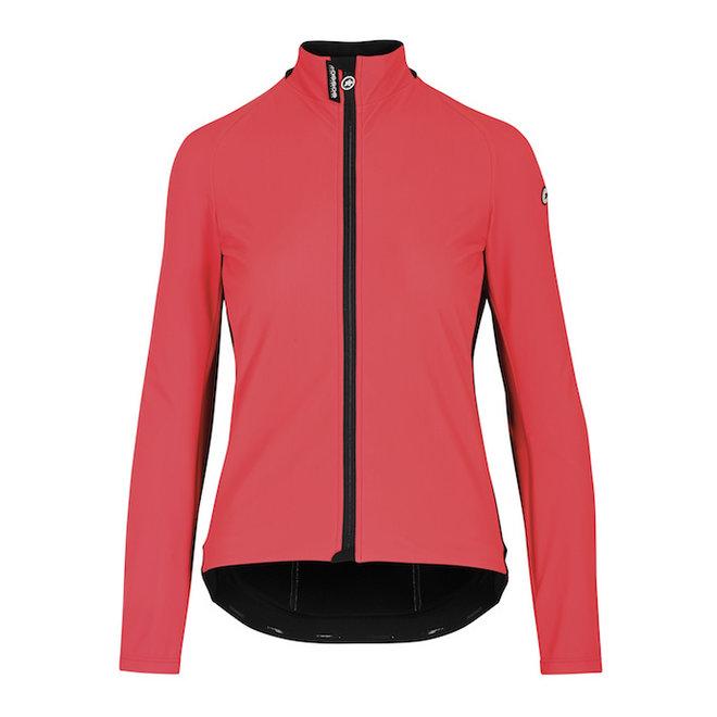Assos UMA GT Ultraz Winter Jacket EVO Dames Roze