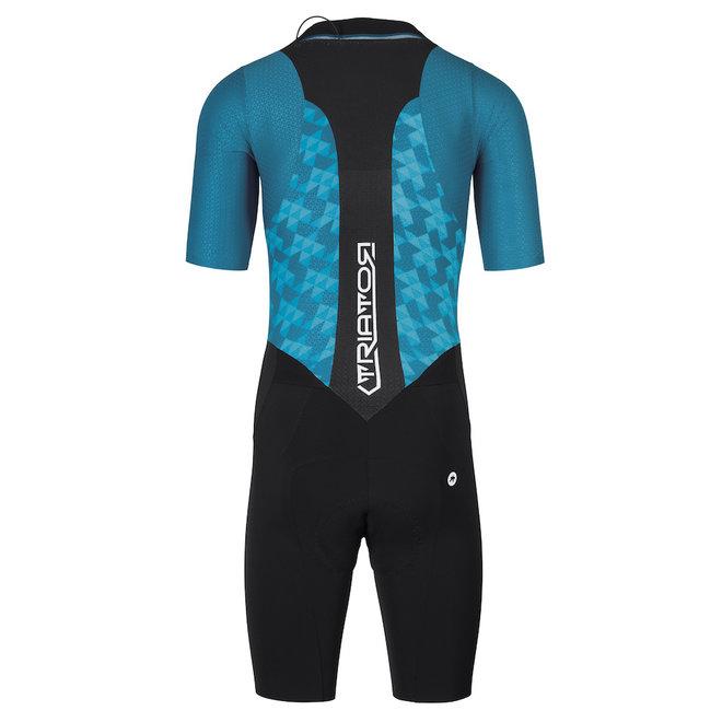 Assos Triator SS Speedsuit triathlonpak Heren