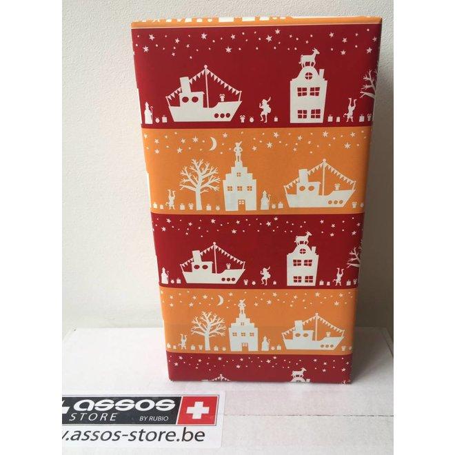 Cadeaupapier inpakken