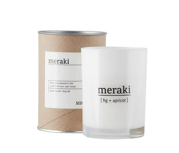 Meraki Scented Candle Fig & Apricot