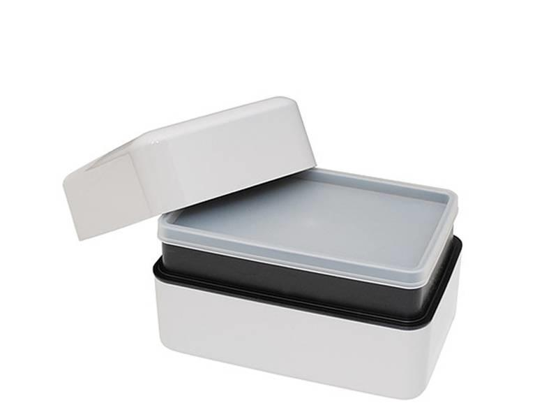 Takenaka Bento Box Rectangle Glacier Gray