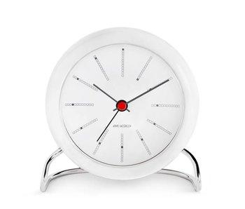 Arne Jacobsen Bankers Alarm Clock White