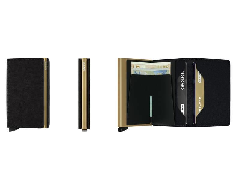 Secrid Slimwallet Crisple Black/Gold