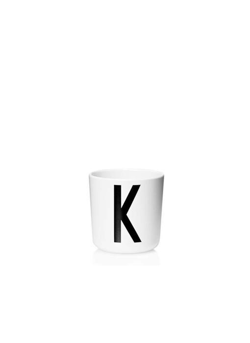 "Design Letters Melamin Cup AJ ""K"""