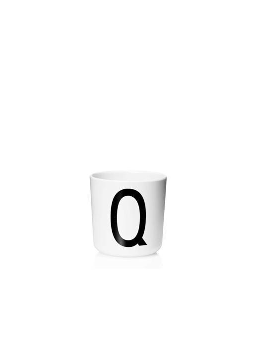 """Design Letters Melamin Cup AJ """"Q"""""""