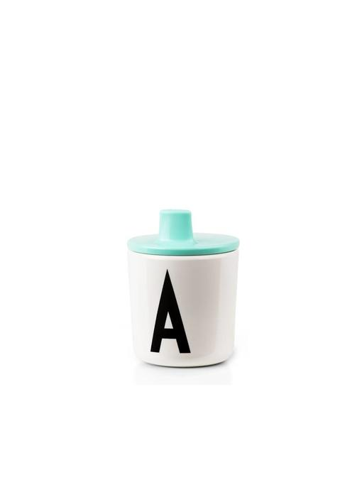 Design Letters Drink Lid Turquoise