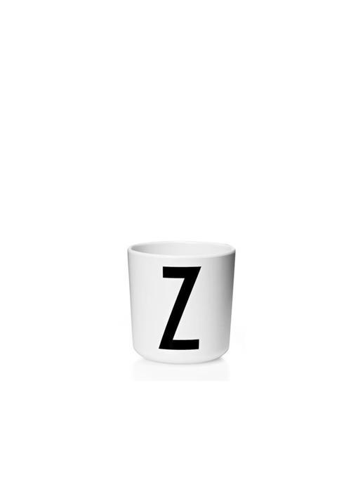 "Design Letters Melamin Cup AJ ""Z"""