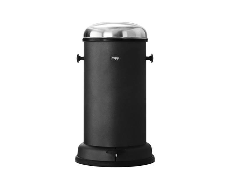 Vipp 15 Pedal Bin 14 liter Black
