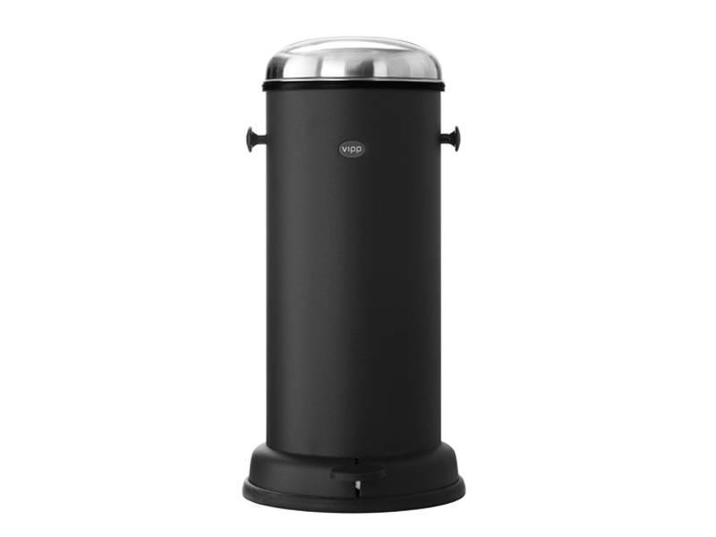 Vipp 16 Pedal Bin 18 liter Black