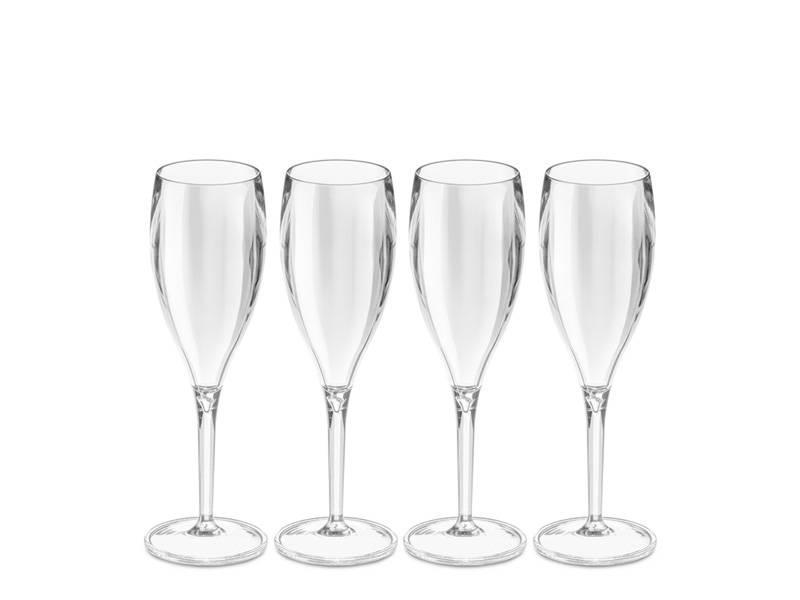 Koziol Cheers Champagneglas Kunststof 4 pcs.