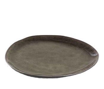 Serax Pure Ovaal Bord Grijs 28 cm