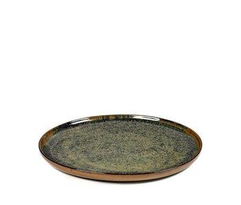 Serax Surface Plat Bord Indi Grey 24 cm