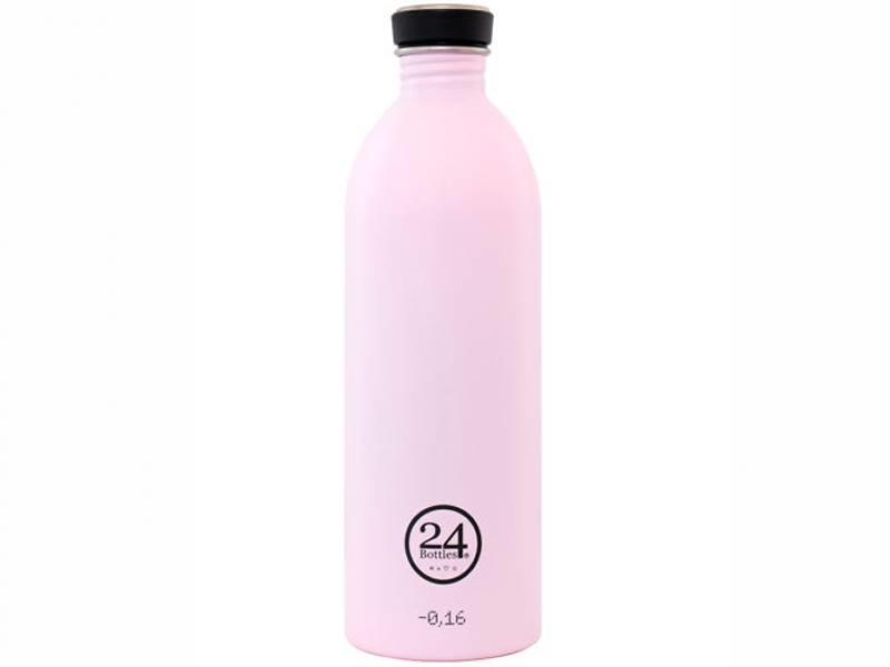 24 Bottles Urban Bottle 1 l Candy Pink