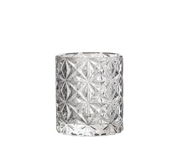 Bloomingville Votive Grey Glass