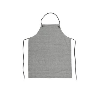 Bloomingville Apron Grey Cotton