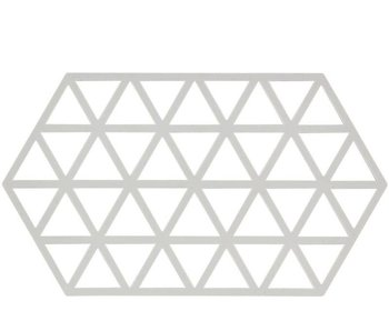 Zone Denmark Triangles Trivet L Warm Grey