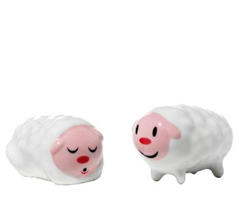 Alessi Kerstfiguurtjes Set Tiny Little Sheeps
