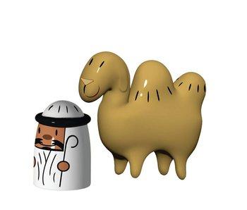 Alessi Kerstfiguurtjes Set Amir & Camelus