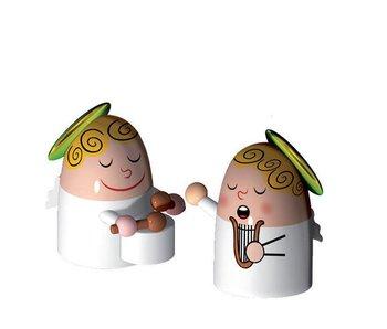 Alessi Kerstfiguurtjes Set 3 Angels Band