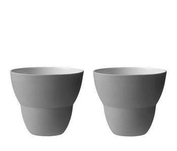Vipp Coffee Cup Grey 2 pcs.