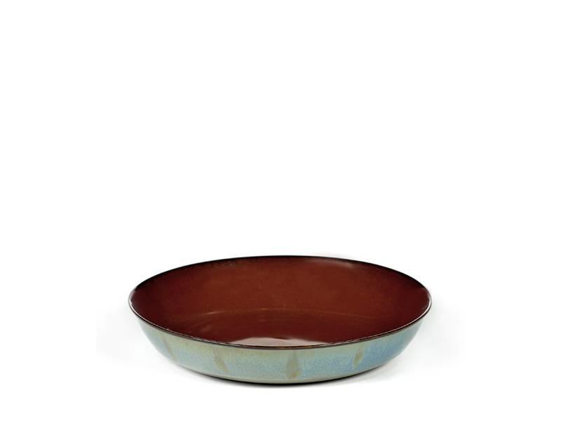Serax TDR Schaal Rust/Smokey Blue 17,5 cm