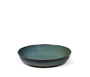 Serax TDR Schaal Smokey Blue/Dark Blue 21 cm