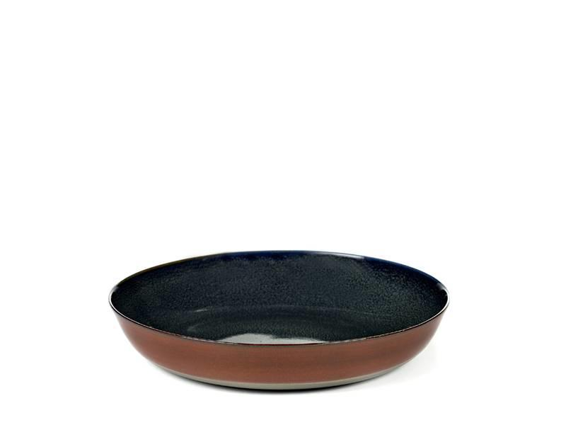 Serax TDR Schaal Dark Blue/Rust 21 cm