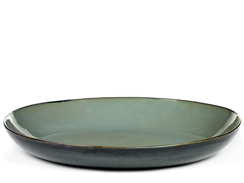 Serax TDR Schaal Smokey Blue/Dark Blue 35,5 cm