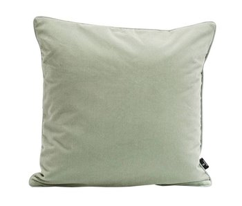 SemiBasic Lush Velour Cushion Dusty Green