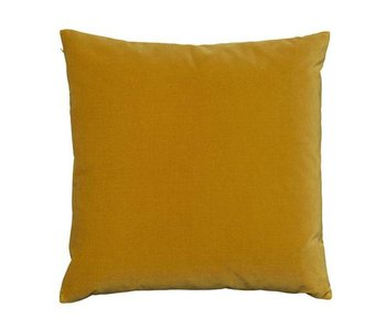 SemiBasic Lush Velour Cushion Ochre
