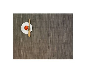Chilewich Placemat Bamboo Charcoal