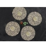 Chilewich Placemat Petal Champagne Round