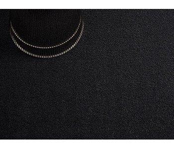 Chilewich Shag Mat Solid Black 46/71 cm