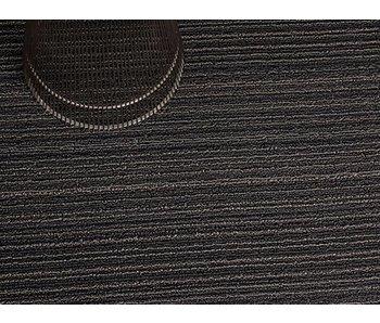 Chilewich Shag Mat Skinny Stripe Steel 46/71 cm