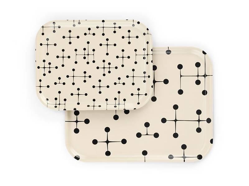 Vitra Classic Tray Medium Dot Pattern Light