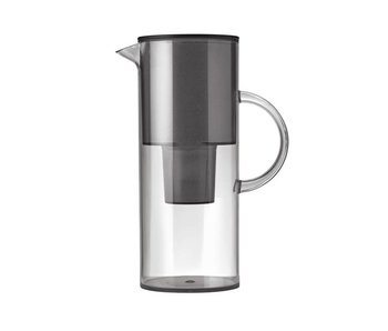 Stelton Water Filter Jug Smoke