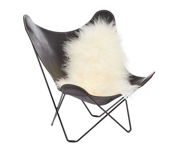 Natures Collection Icelandic Sheepskin Long Wool Off White 100/120