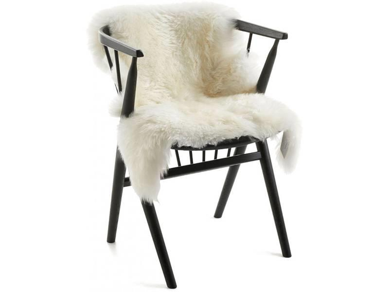 Natures Collection New Zealand Sheepskin Long Wool Ivory 80