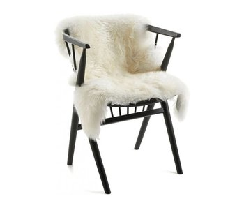 Natures Collection New Zealand Sheepskin Long Wool Ivory 90