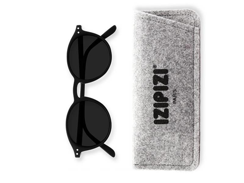 Izipizi-See Concept Sunglasses #D Black +0