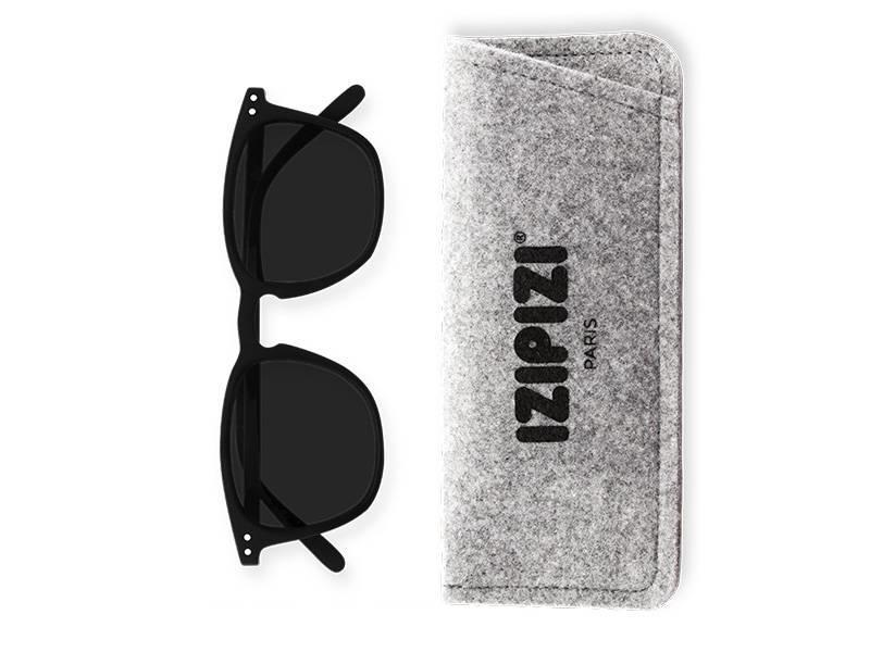 Izipizi Sunglasses #E Black +0